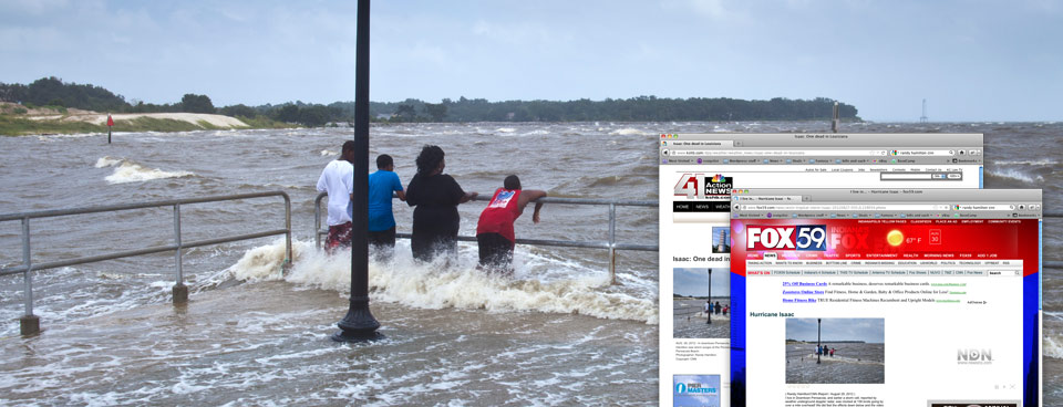 Hurricane Isaac Photo Journalism | Pensacola, FL and Gulf Shores, AL