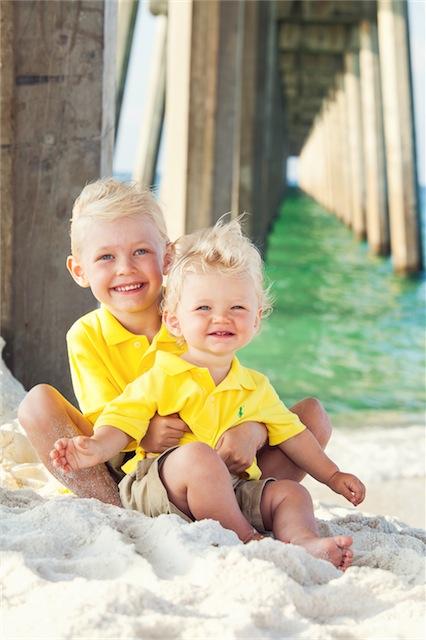 Pensacola Beach Family Portrait Session