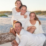 pensacola beach family photo