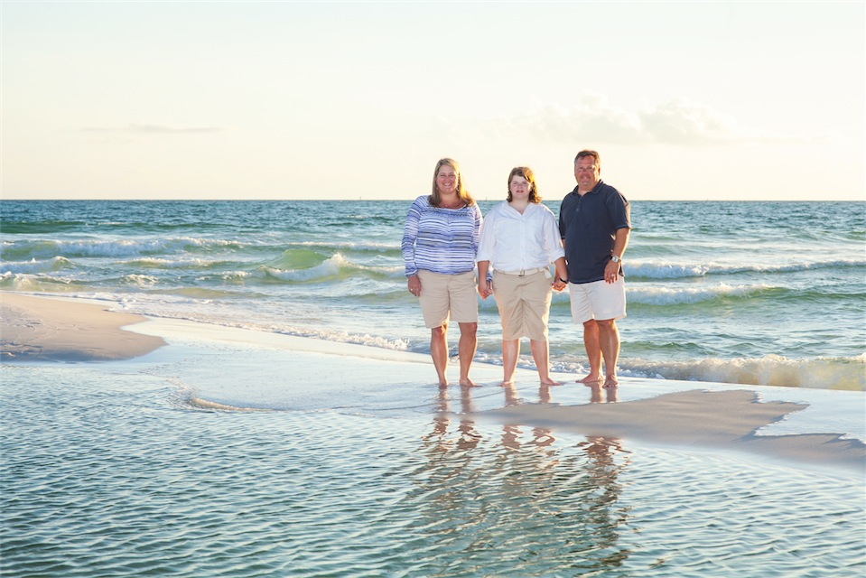 Pensacola Beach Family Portrait Session