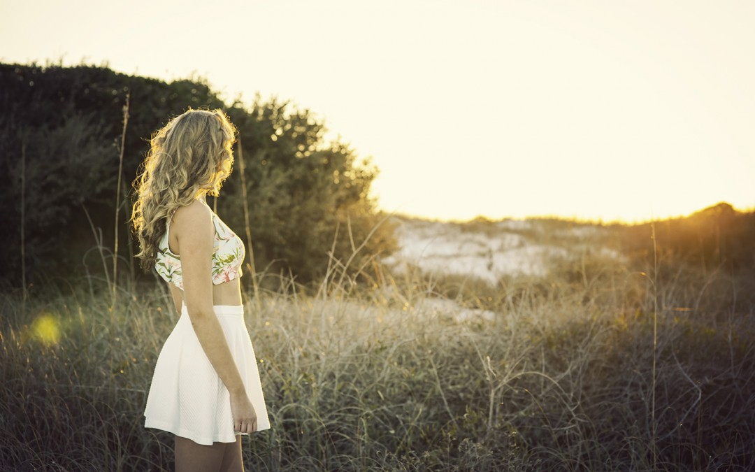 Pensacola Beach Senior Portrait Photography Session