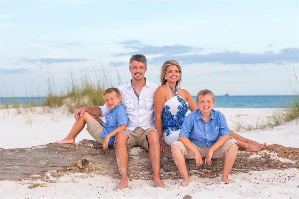 Pensacola Beach Family Portrait Photography Session
