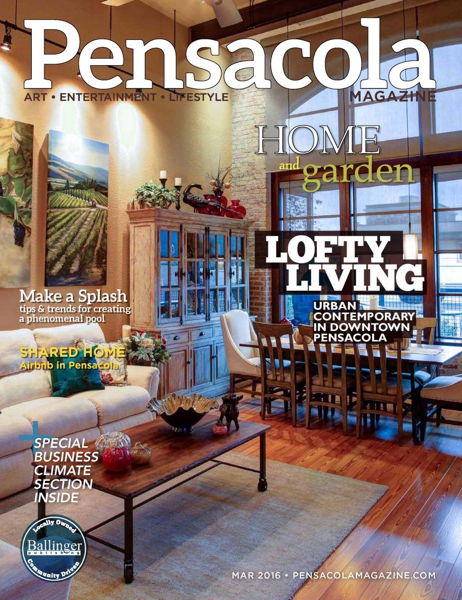 Hamilton Images Snags Cover for Pensacola Magazine