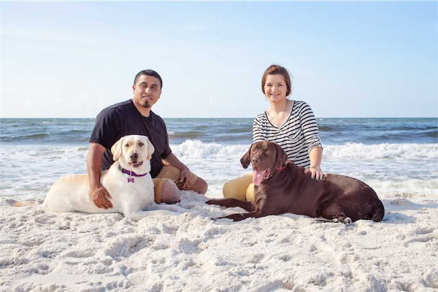 Pensacola Dog Beach Photography Session