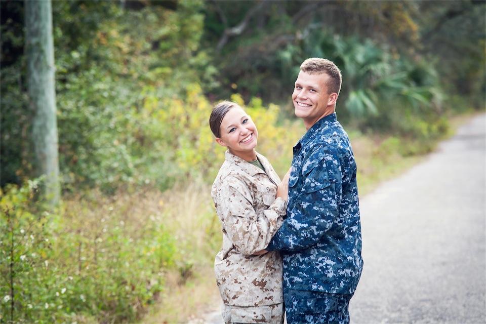 Pensacola NAS Couples Photography Session