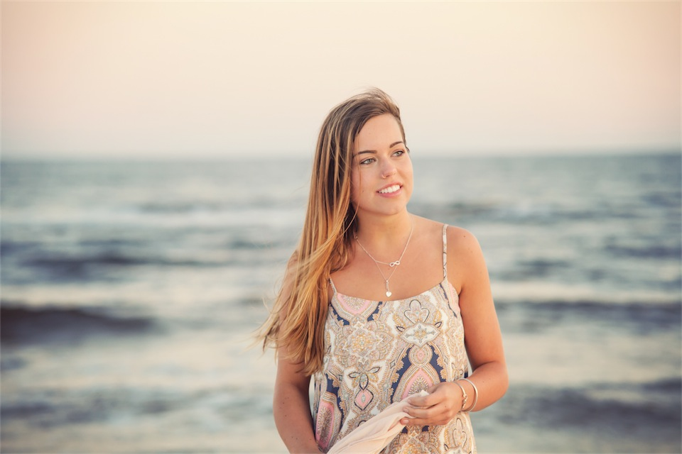 Pensacola Beach Graduation Photo Session